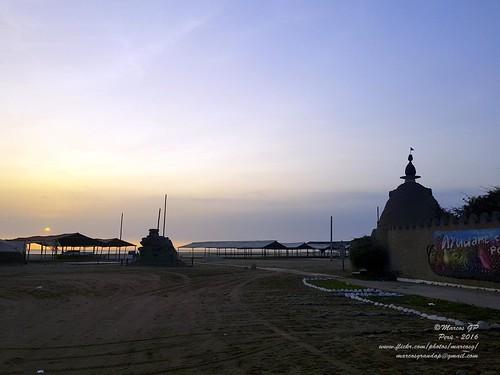 marcosgp lima playa mar costa ocaso sunset norte peru