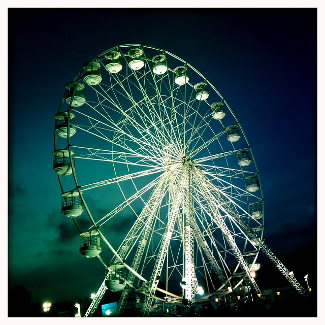 2013 isle of wight festival - iphone photo-blog - IMG_1754 - Big wheel