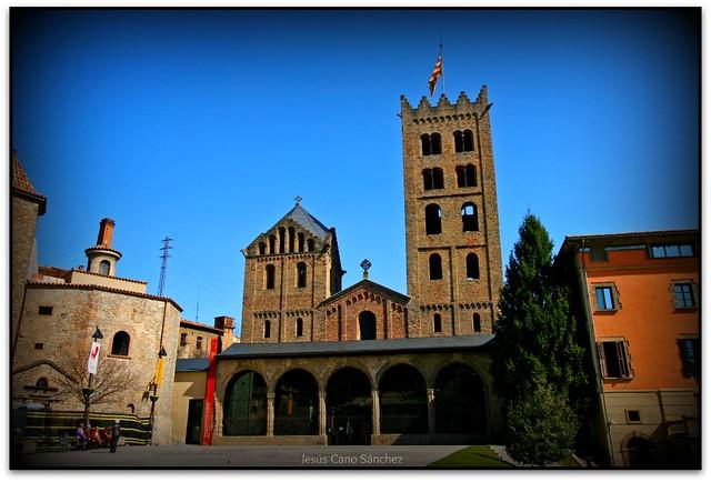 Façana, Monestir de Santa Maria, Ripoll (el Ripollès)