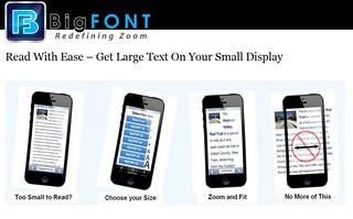 BigFONT Website | by bigfontapp