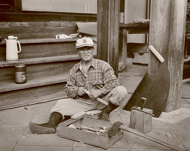 hakusan_60 Old Japanese sawyer