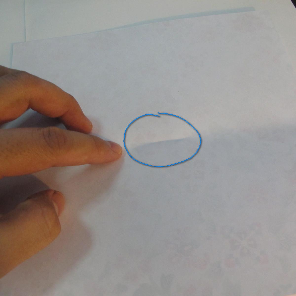 การพับกระดาษเป็นรูปหัวใจแบบ 3 มิติ 004