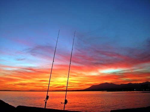 sunset españa atardecer mar spain andalucia puestadesol málaga marbella