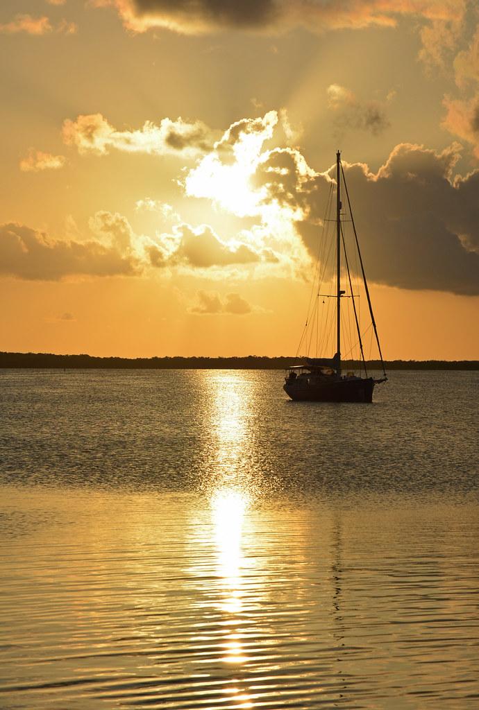 Sunset in Key Largo, Florida