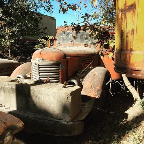 #dusty #truck #international #classiccar #rust #eastbottoms #kansascity #missouri #kcmo #reppinkc #igkansascity | by Poaceaewave