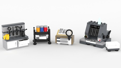 LEGO Printing Office | by BrickJonas