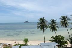 Aussicht von einer Hotelanlage - Ko Phangan