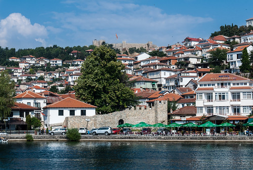 Ohrid, view from lake
