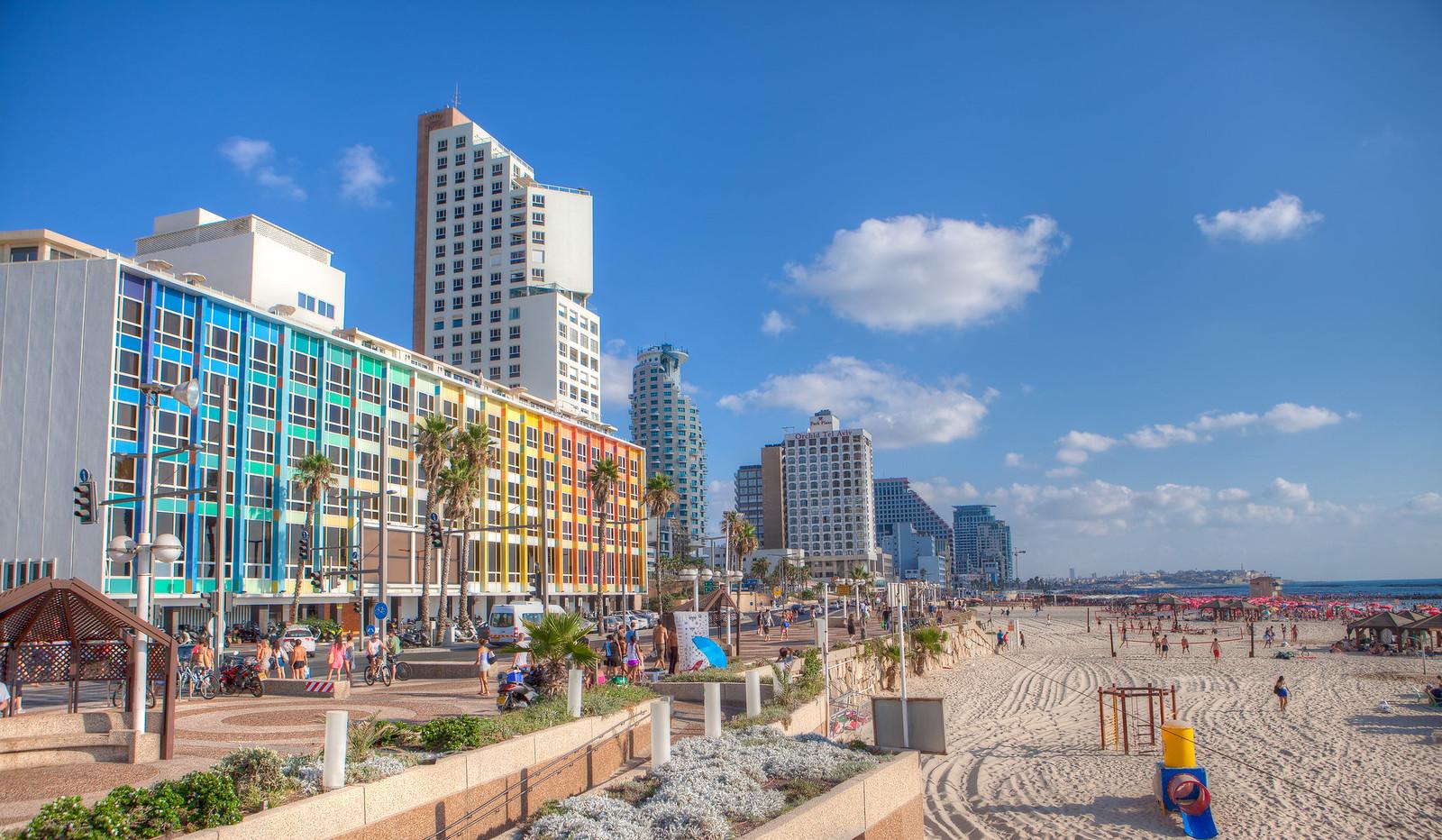 Tel Aviv_ Beach_ Promenade_Dana Friedlander_IMOT