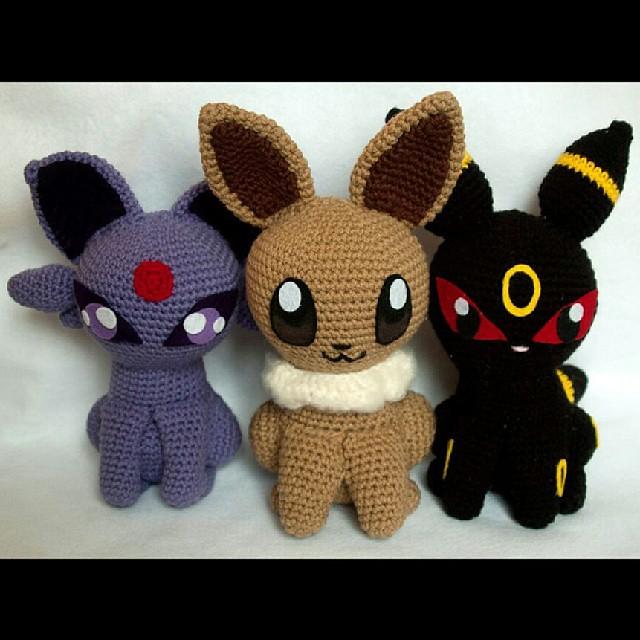 Ravelry: Eevee Amigurumi Pokemon pattern by Ami Amour   640x640