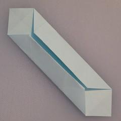 วิธีพับกระดาษเป็นรูปกล่อง 007