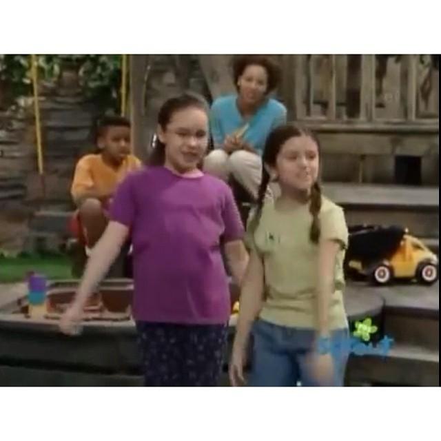 ddlovato & @selenagomez from Barney & friends season 7-8