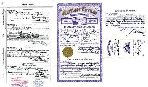 Marriage License Rick and Renee 9251972-600   by Rick O'Kelley Photography 1981 - 20..