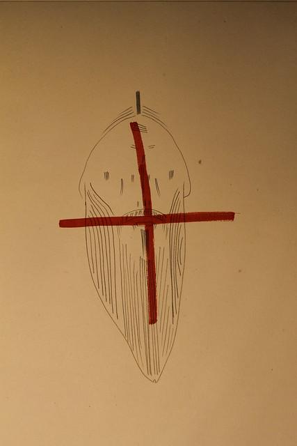голова і хрест