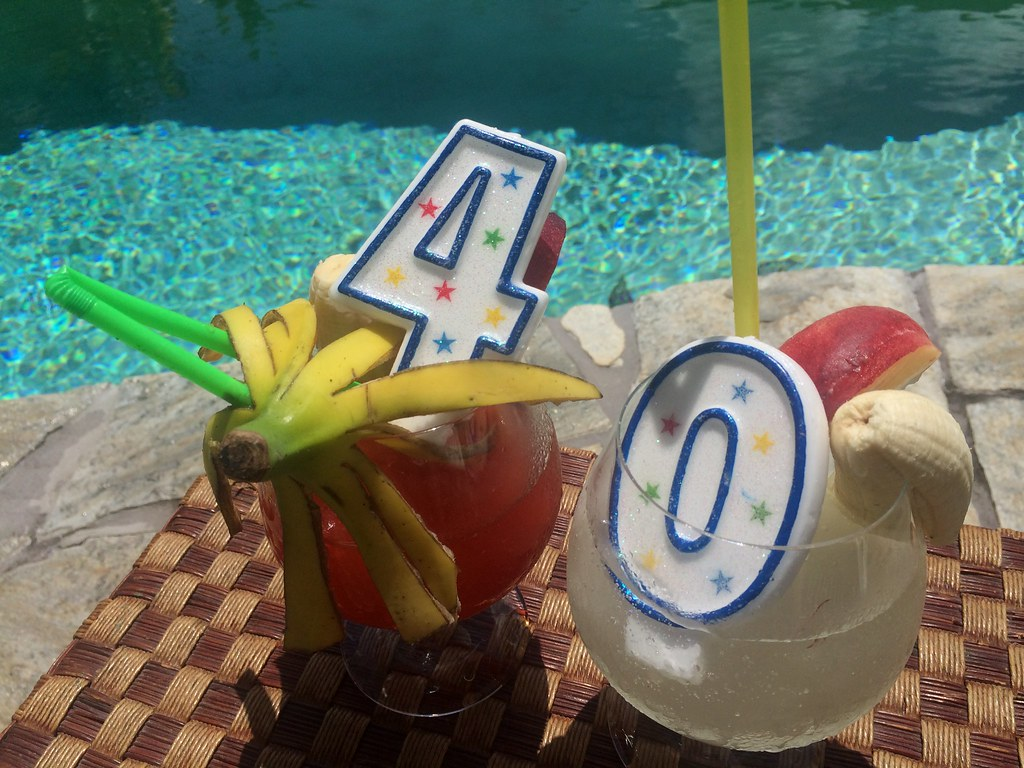 Brilliant Tropical 40Th Birthday Cake Oahu Hawaii Kaneohe Sand Flickr Funny Birthday Cards Online Elaedamsfinfo