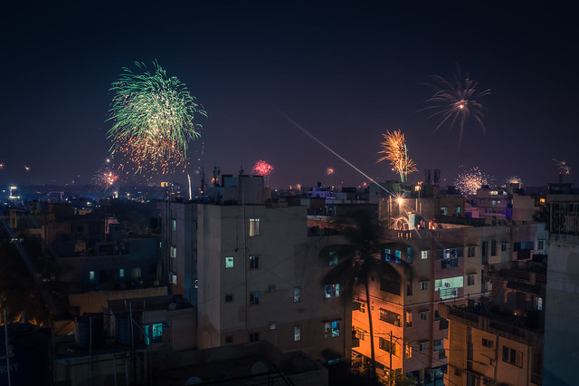 Moments captured ... Happy Diwali guys!