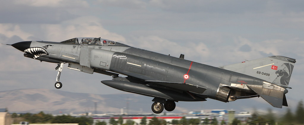 "F-4E-2020, 68-0498, 111 Filo ""Panterler"", Turkish Air Force, Anatolian Eagle 2016, Konya AB, 9 June 2016"