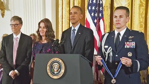 President Obama Awarding the Medal of Freedom to Melinda and Bill Gates The White House (DC) November 22, 2016