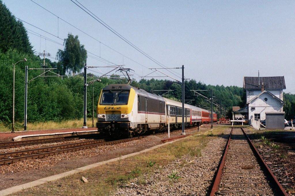 CFL 3009 in Vielsalm (B) op 21-7-2004 (SCAN)