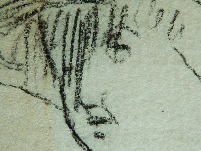 MILLET Jean-François,1850 - Départ pour le Travail, Etudes - The Walk to Work (drawing, dessin, disegno-Louvre RF11192-Recto) - Detail 46