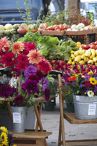 Farmers Market downtown is a feast for the senses.
