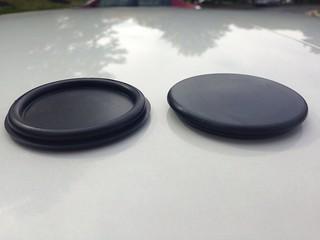 "e31 91 BMW 850i 2"" 50mm rubber blanking grommets 
