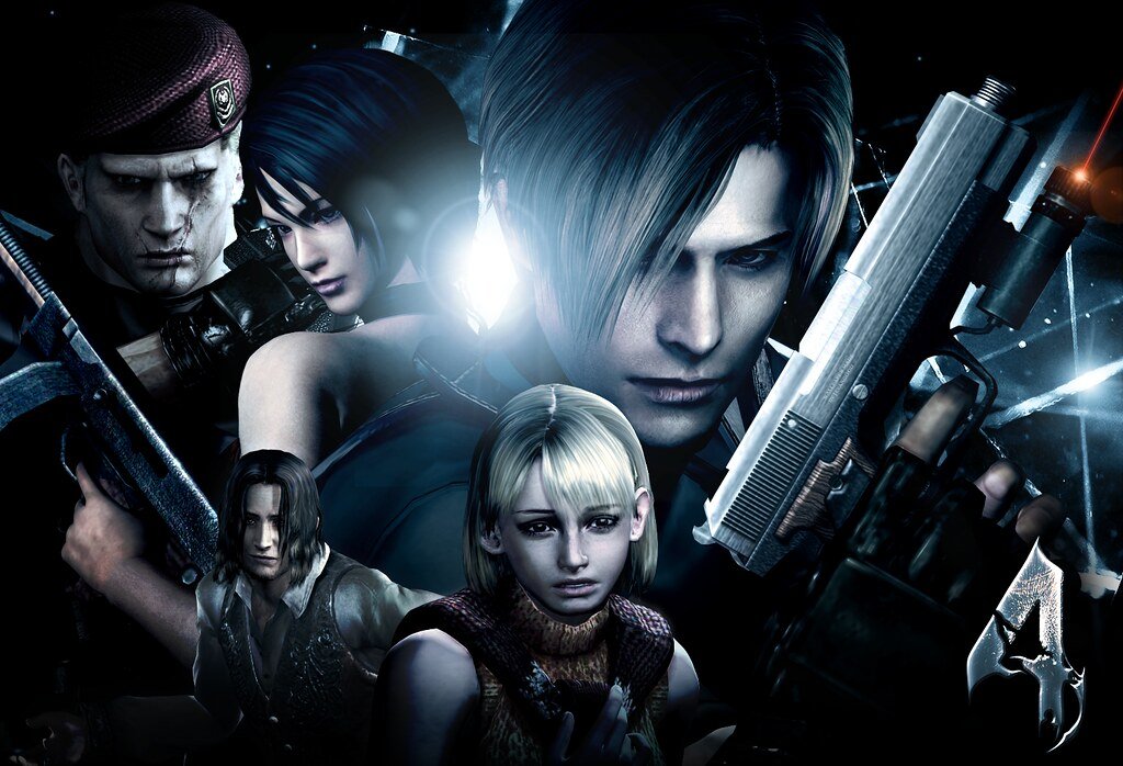 Resident Evil 4 Wallpaper Custom Wallpaper By Me Flickr