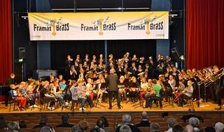 Lilla Brassbandfestivalen 2013 - Per Engström och 110 ungdomsbrassare!