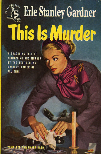 Pocket Books 512 - Erle Stanley Gardner - This Is Murder
