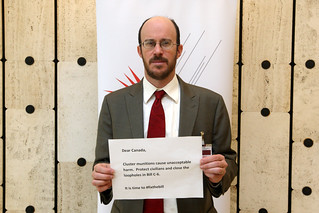 Jeff Abramson (Landmine and Cluster Munition Monitor) © Giovanni Diffidenti-CMC | by Mines Action Canada