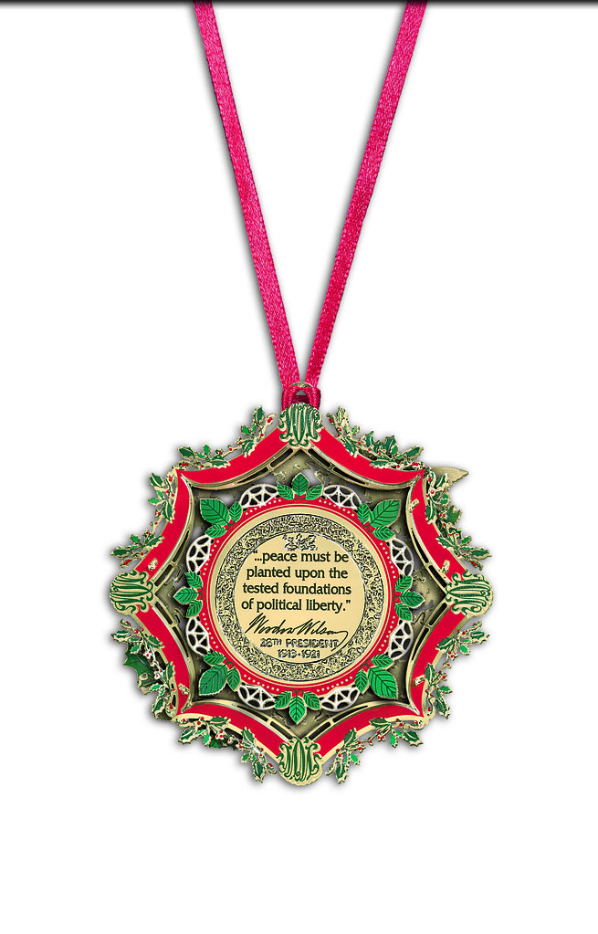 White House Christmas Ornament.2013 White House Christmas Ornament The Words Inscribed On