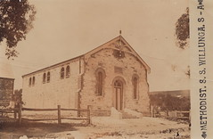 Methodist Sunday School Hall, Willunga, early 1900s.