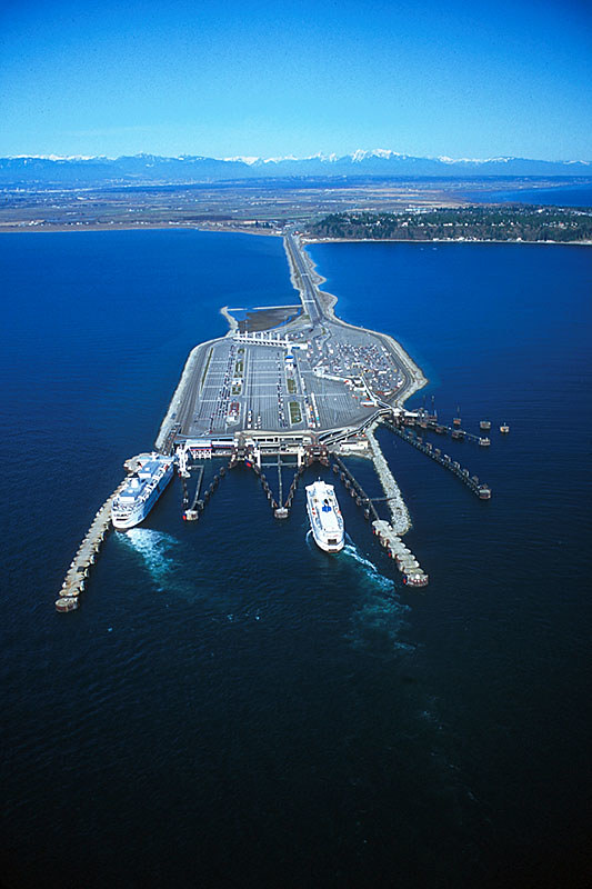 Tsawwassen Ferry Terminal, Delta, Greater Vancouver, Vancouver Island, British Columbia