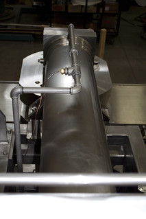 Cylinder installed
