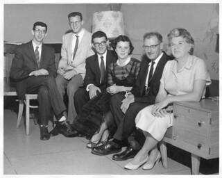 Joe Jr, Len, Jig, Rose, Joe & Carmela DeFrancisci