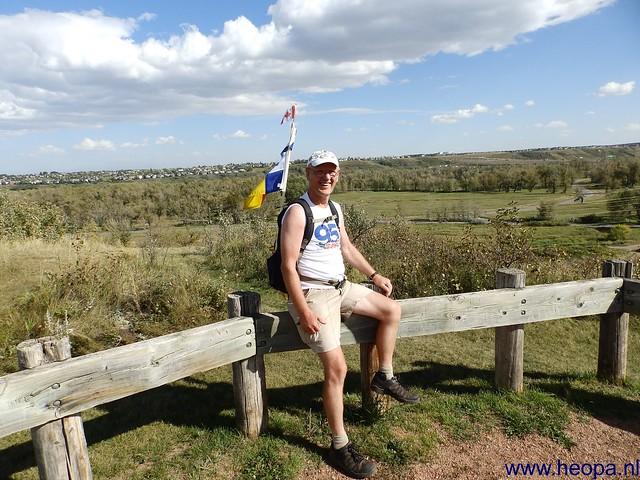 16-09-2013 De Vallei - fishcreek wandeling 36 Km  (95)