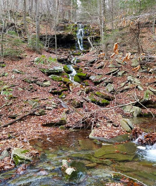 Side stream waterfalls