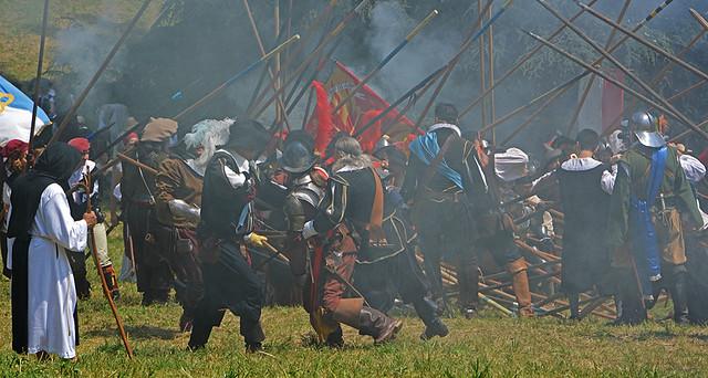 Assedio  di  Canelli ... Battaglia  sul  campo