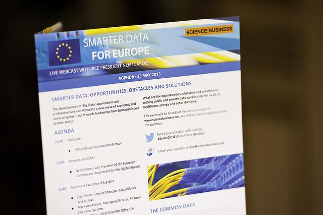 Smarter Data for Europe