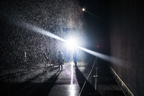 MoMA's Rain Room | by Dan Nguyen @ New York City