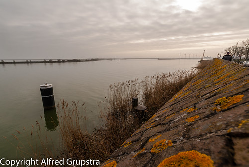 Ijselmeer on a cloudy day 2