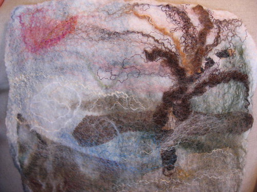 Wet Felting Winterscape: A Workshop with Jane Moore