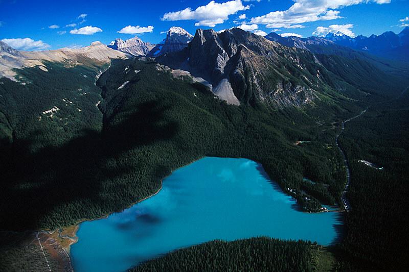Emerald Lake, Yoho National Park, Rocky Mountains, BC Rockies, British Columbia