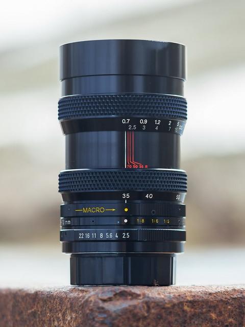 Soligor 35~70mm ƒ/2.5/3.5 Zoom-Auto+Macro
