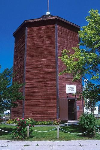Water Tower, Cranbrook, Columbia Valley, Kootenay Rockies, British Columbia, Canada