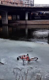 i think somebody lost a bike