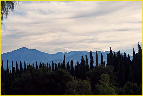 california usa sunrise redlandsca inlandempire sanbernardinomountains cloudsandsky treesinsilhouette dgrahamphoto