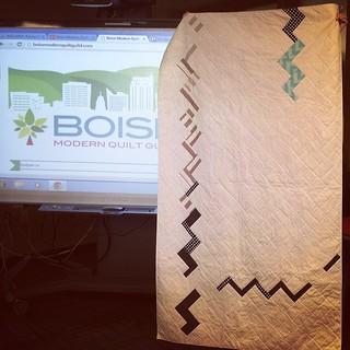 Teri's quilt #boisemqg