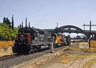 SP Roseville East Bound up the Valleycrx4 | by drewj1946