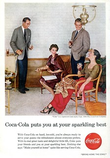 1956 Coke Coca-Cola Advertisement National Geographic October 1956 | by SenseiAlan
